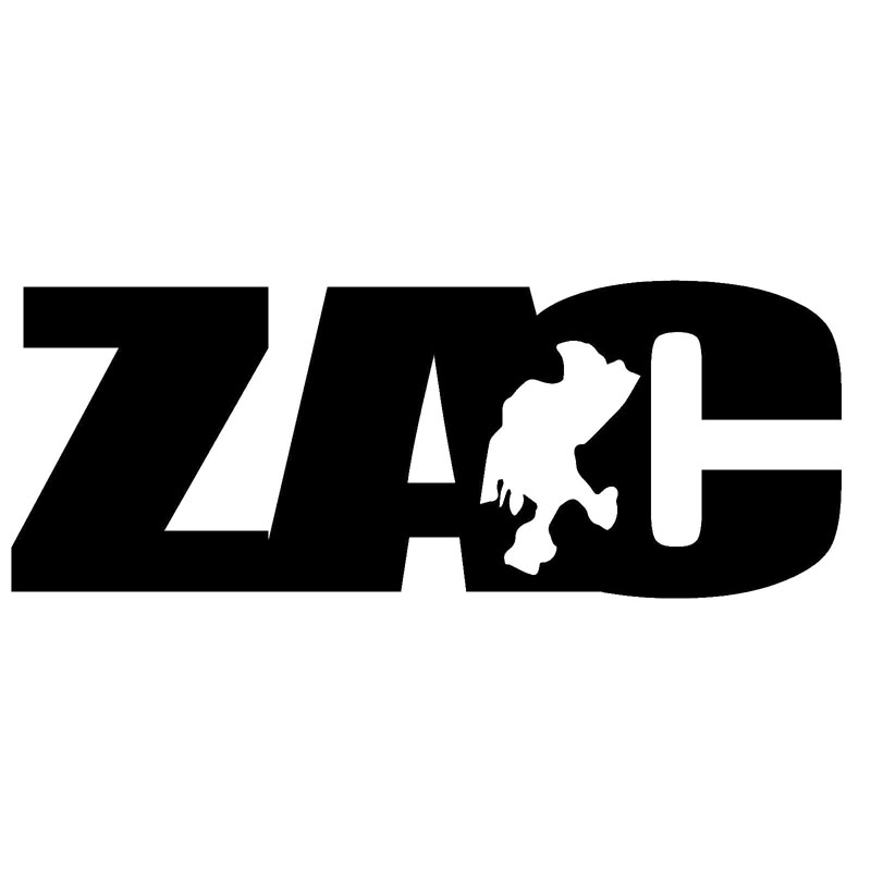 13.5X5.2CM ZACATECAS ZAC #2 Mexico State Map Car Sticker Car-styling Vinyl Decal Black/Silver Accessories S8-0550