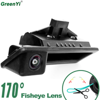 170 Degree Wide Angle Fisheye Lens Vehicle Camera For BMW 3 Series 5 Series X5 X6 E46 Backup Reverse Rear View Parking Camera