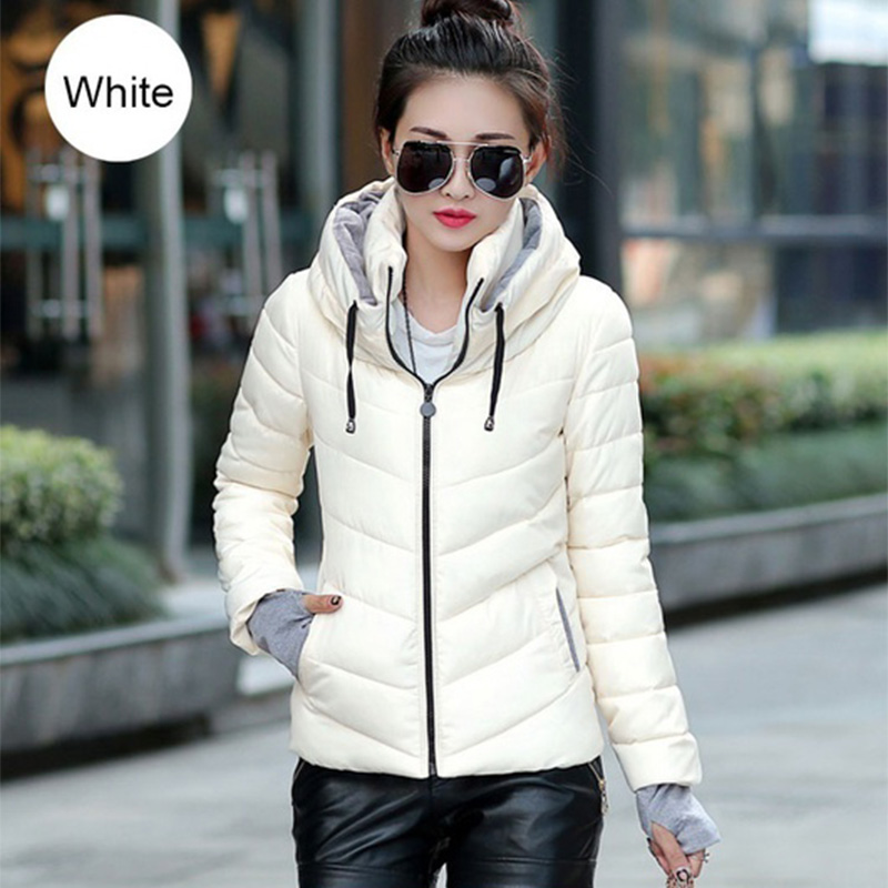 ZOGAA Winter Jacket Women Winter Outerwear Plus Size S-3XL Full Sleeve Thick Cotton Casual Jacket Slim Coat 2019 Pinkl