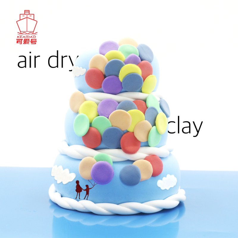 36 Colours Ultra-Light Clay Squishy Fluffy Slime Kids Intelligence Developing Handgum Play Dough Creative Modelling Plasticine