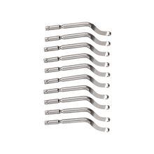 купить Silver Tone Deburred Tool BS1018-S100 Cobalt Deburring Blades 10 Pcs дешево