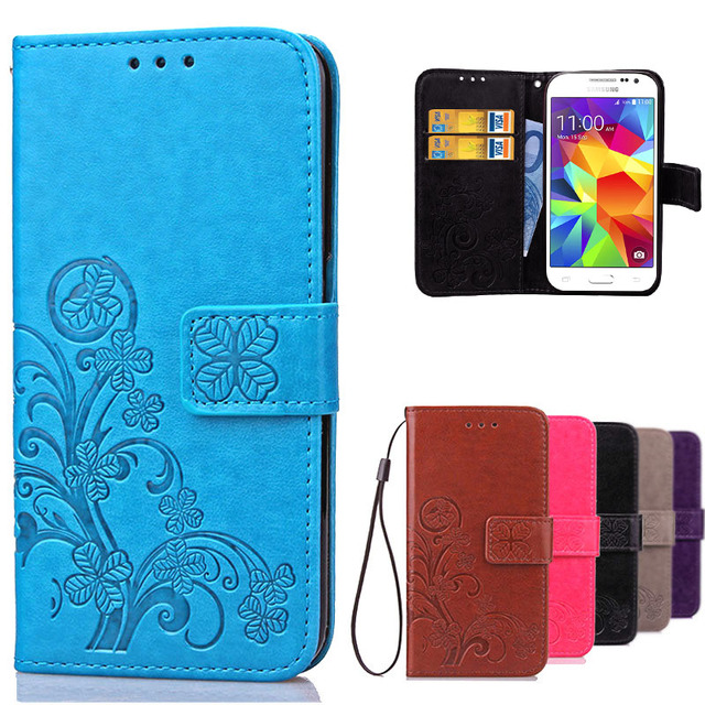 huge selection of 9879b 34ded US $5.04 11% OFF|Luxury For Case Samsung Galaxy Core Prime G360 G360H G360F  Retro Wallet Leather Flip Cover For Coque Samsung Galaxy Core Prime-in ...