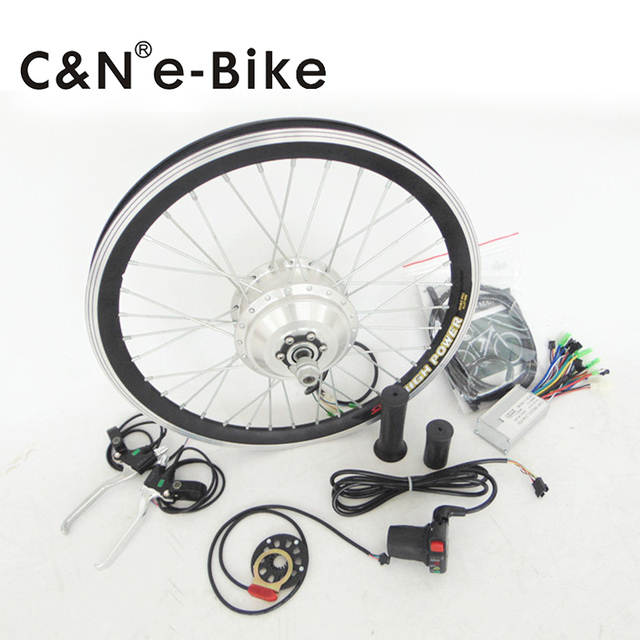 250w Mini Electric Bike Conversion Kit Cute Hub Motor Kit With