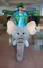 High quality export high cartoon MASCOT COSTUMES  style elephant mascot costumes Holiday special clothing