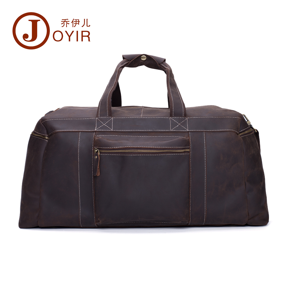 2017 Designer Handbags High Quality Genuine Leather Travel Bag Men Travel Bags Vintage Luggage Large Duffle Bag Weekend Bag 6319