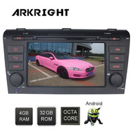 7 двойной Din 4 ГБ оперативной памяти 32 ГБ Rom Android 8,0 PX5 Octa Core радио автомобиль gps навигации wi fi /OBD/DVR/DAB для Mazda3 мультимедийный плеер
