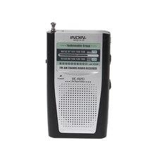 Portatile Mini Slim Radio 2 Band Del Mondo di AM FM Receiver DC 3V Antenna Telescopica BC R20