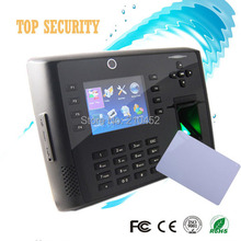 Fingerprint access control linux system 3inch color screen TCP/IP fingerprint time attendance with camera built in battery