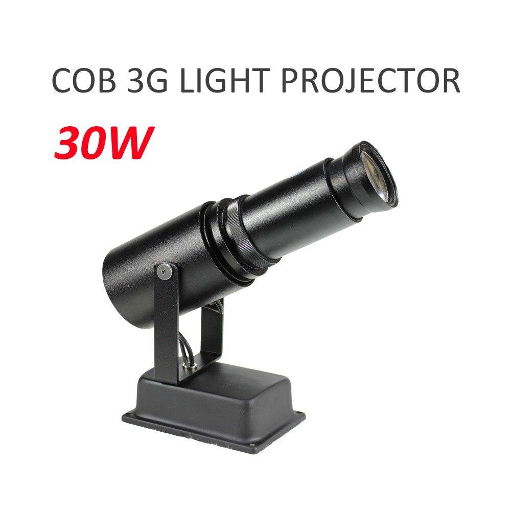 Projecteur de Logo d'image personnalisée de haute qualité HD LED projecteur d'image publicitaire de centre commercial 30 W