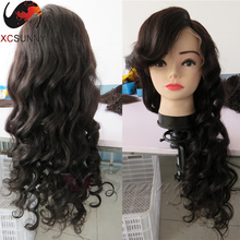 The Factory Real Figure130-200 Density Lace Front Wig Body Wave 26inch Natural Virgin Color Glueless Lace Front Human Hair Wigs