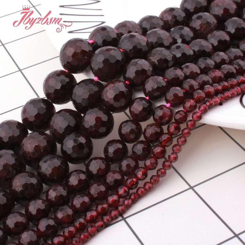 """10 mm Facettes Péridot Perles Rondes Gemme Collier 18/"""""""