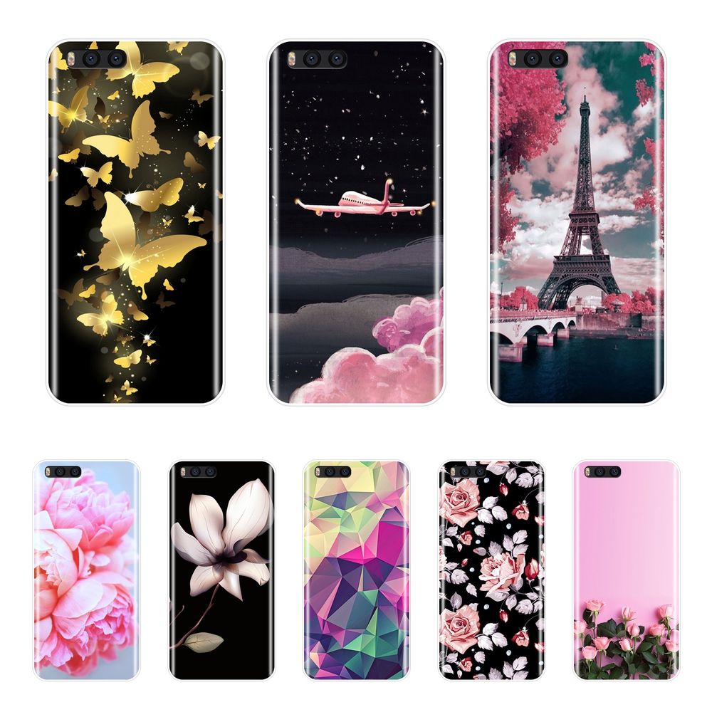 Soft-Silicon-Case Back-Cover Mi-Note Xiaomi Mix For Mi-Max Mix-1/2-2s/3-pattern/Painting