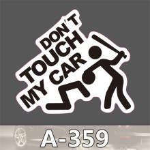 A 359 Tide Brand Car Scratch font b Stickers b font Pvc Waterproof Suitcase font b