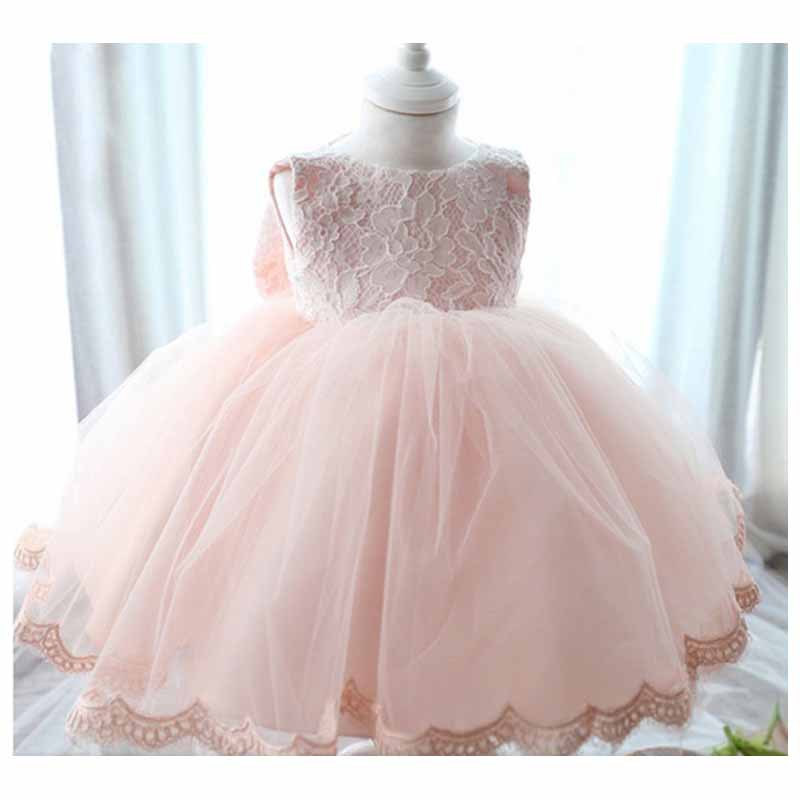 High quality flower girl dresses kids wedding party dress for Wedding dresses for baby girls