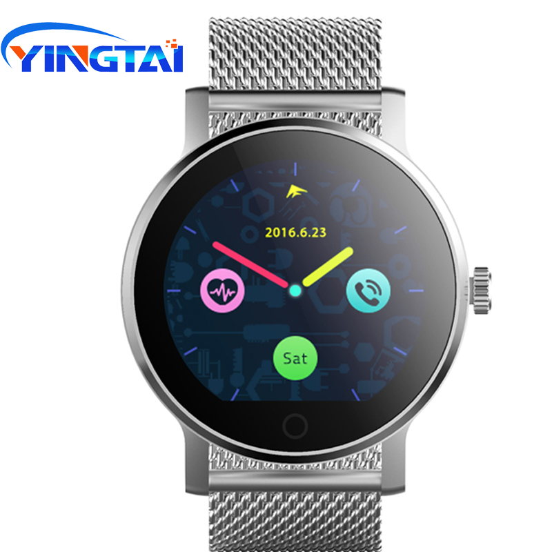 YINGTAI SMA-09 Smart Watch IP54 Bluetooth call with Mic Remote Camera wristband watch OGS touch Anti Lost Push for IOS Android sma r dual bluetooth smart watch