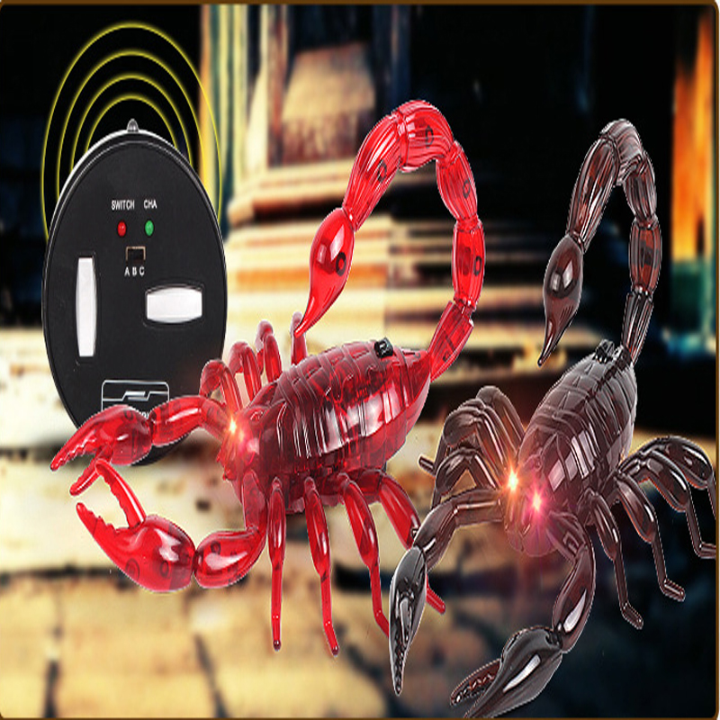 Radio Remote Controlled Wireless Radio Control Toy RC Insect Scorpion