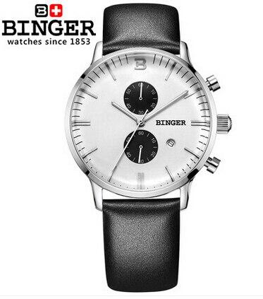 Switzerland military watches quartz analog digital reloj full steel waterproof relogios masculino wristwatch man Binger Watch
