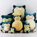 HOT! Big Size 50cm Snorlax Plush Toy Snorlax Plush Anime New Rare Soft Stuffed Animal Doll Pillow For Kid Gifs