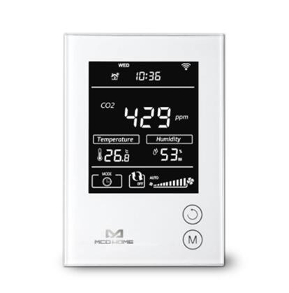 MCOHOME MH9 series Z Wave enabled sensor CO2 Motion sensor MH9 CO2 EU can work with