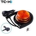 TC-X Nueva Ámbar Strobe Luz de Advertencia de 10 Modos LED Del Carro Del Coche Auto Linterna Magnética Ambulancia Barco Lámpara Intermitente de Seguridad Pública