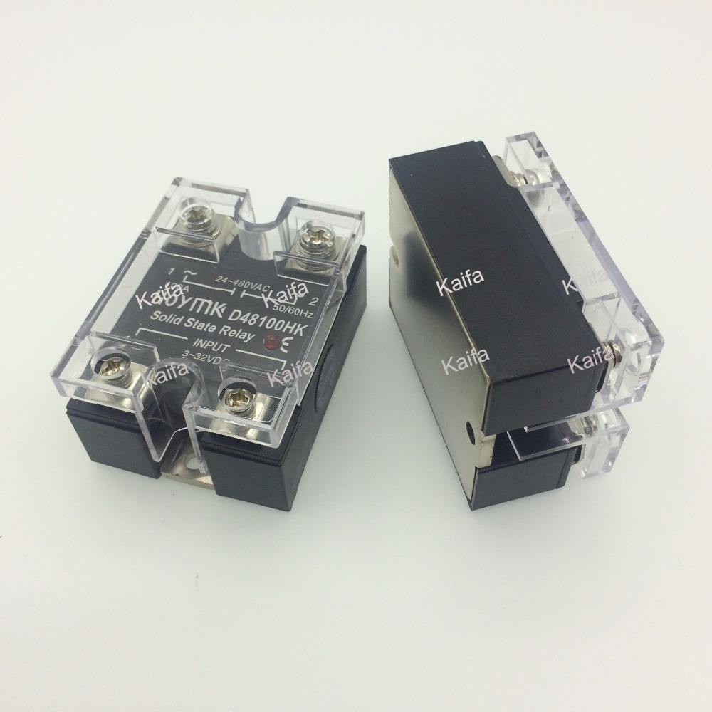 wholesale genuine Solid State Relay SSR-D48100HK 100A 24-480VAC ssr 60aa 24 480vac three phases bem3 solid state relay