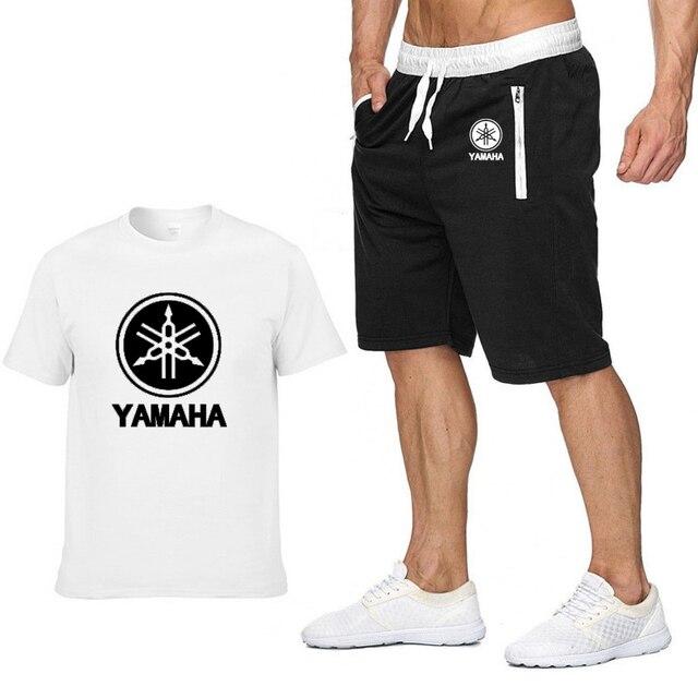 Mens Short Sleeve YAMAHA...