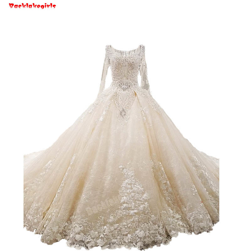 Elegant Embroidery Embellishment Ball Gown Traditional: Backlakegirls Vintage Ball Gowns Wedding Dress Elegant