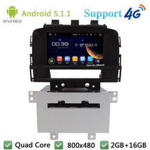 Quad Core 8″ Android 5.1.1 2Din Car DVD Player Radio Stereo Screen PC BT FM DAB+ 3G/4G WIFI GPS Map For Opel Astra J 2011 2012