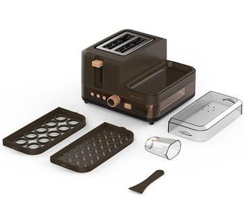 3 in 1 breakfast machine kitchen tools toast furnace automatic household multi-function breakfast toast toast machine 5