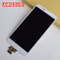 For LG K10 LTE K430DS / K410 / K420n Full Touch Screen Digitizer Sensor Glass + LCD Display Monitor Module Panel Assembly