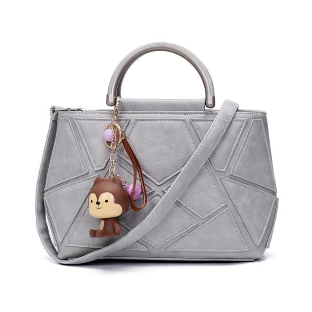 Vintage Designer Handbags High Quality Women Shoulder Bags Women Bag Female Bag Leather Patchwork Bolsa Feminina De Marca Famosa