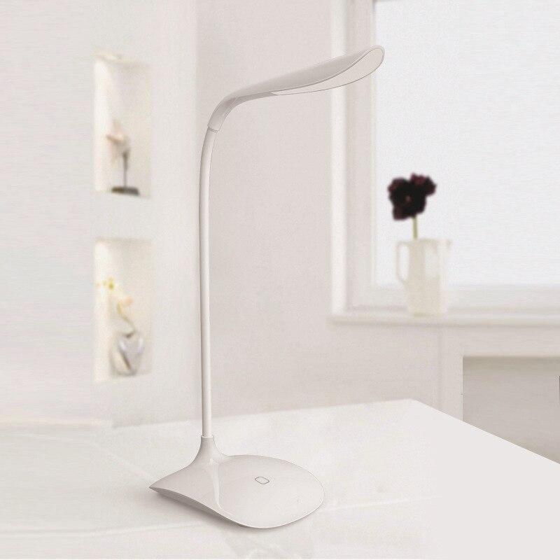 USB Flexible LED night light Touch Sensor LED Lamp Rechargeable White color