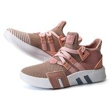 Mulher vulcanize sapatos de luxo chaussures femme respirável tênis casuais apartamentos para mulheres formadores senhoras novos designers venda quente
