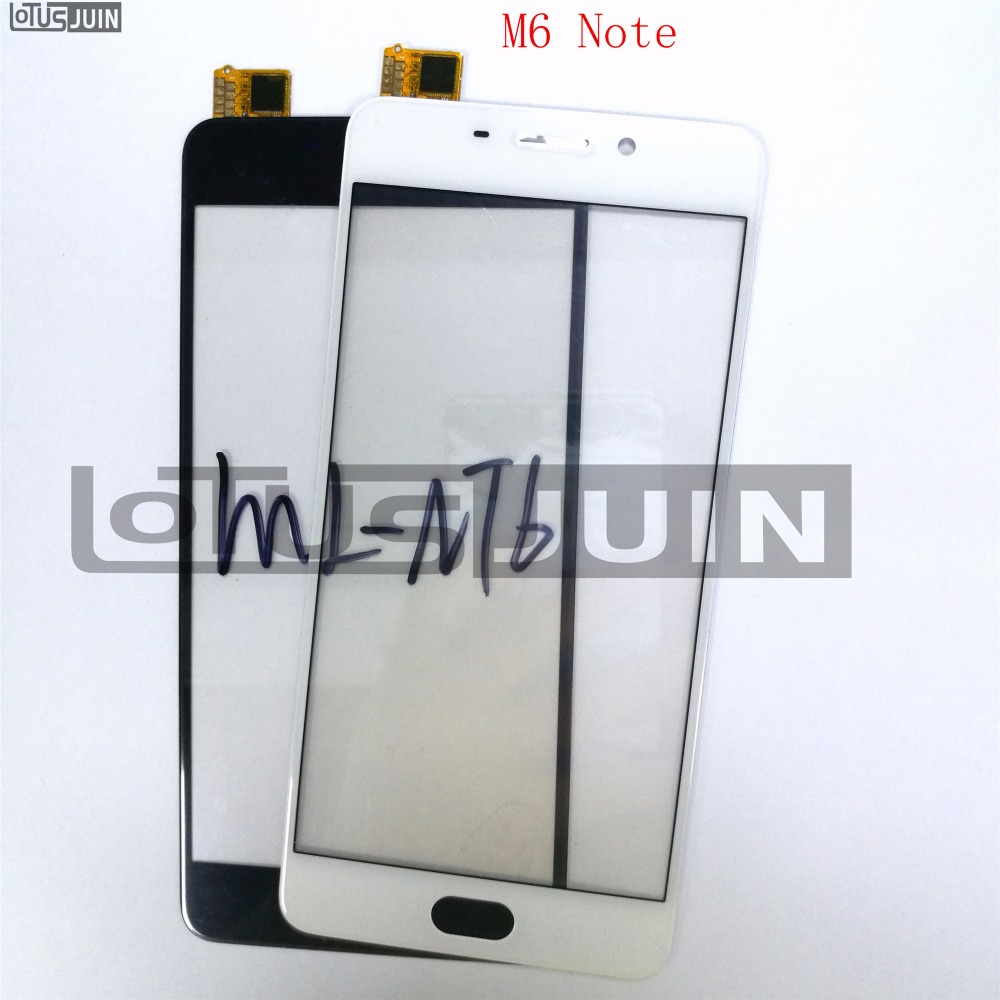 1pcs Touch Screen Sensor Digitizer Glass lens For Meizu M6 Note 5.5 Front Replacement Parts