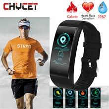 Chycet Smart Wristband Fitness Tracker waterproof Gps Band Men Wristband Smart Bracelet Women GPS Watch Heart Rate Tracker аксессуар детский трекер gps lineable smart band size l pink rwl 100pklg