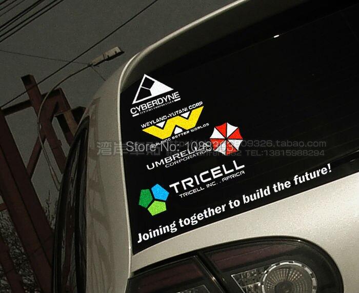 Rear Window Stickers Custom Vinyl Decals - Car rear window stickers