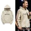 New fashion Men & girlfriend oversize Fear of God BF bieber purpose tour hooded sweatshirt hip hop harajuku fleece pull hoodies