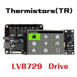 """Image 4 - LERDGE X 3D Printer Controller Board Voor Reprap 3d Printer Moederbord Met Arm 32Bit Moederbord Control Met 3.5 """"Touch Screen"""