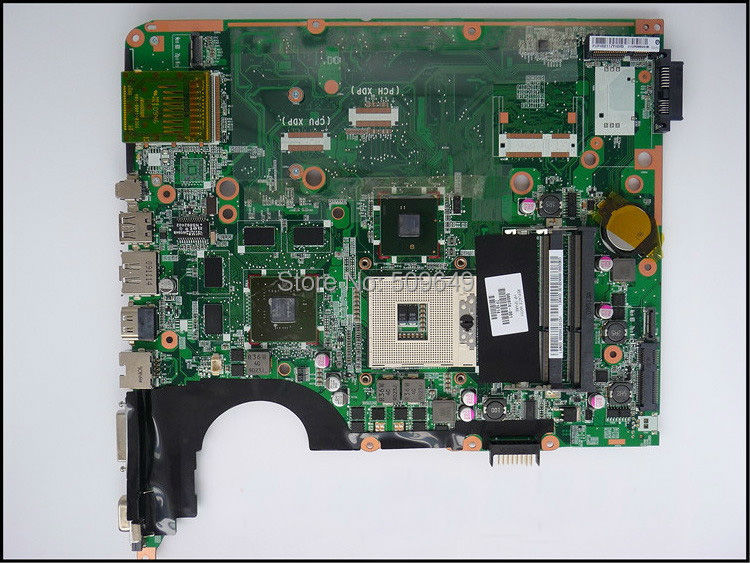 Top quality , For HP laptop mainboard 580974-001 DV7 DV7T DV7-3000 laptop motherboard,100% Tested 60 days warranty 45 days warranty for hp dv7 580974 001 laptop motherboard for intel cpu with 8 video chips non integrated graphics card