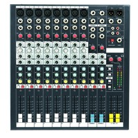 Audio Mixer Console Built In Effect Processor 8channel With 48V EMP8 Console Mixing DJ MIC