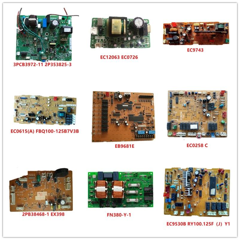 3PCB3972-11 2P353825-3| EC12063|EC0726|EC9743| EC0615(A) FBQ100-125B7V3B| EB9681E| EC0258 C| EX398 2PB38468-1| FN380-Y-1| EC9530