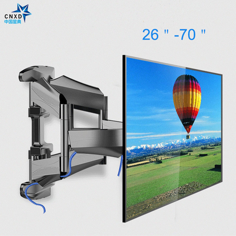 Full Motion TV Wall Mount Contemporary Designed Super-Strength LCD Bracket Adjustable Articulating Stand TV Arm for 26-70 lcd bracket tv mount wall mount wall stand adjustable mount arm fit for 26 50 max support 40kg can swing left and right page 9
