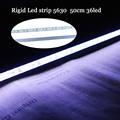 Tanbaby Rigid Led strip light Waterproof 5630 SMD DC12V 500mm 36 Led White Led Bar light for Jewelry cabinet lighting
