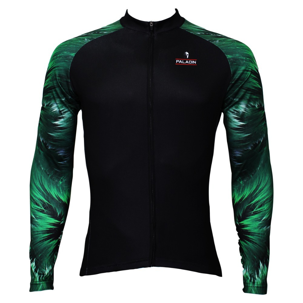 Hot cycling jerseys Men's Outdoor Sports Cycling Clothing Bike Bicycle Long Sleeve Cycling Wood arm Jersey Top exercise CC021