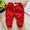 Roupas de bebe Outono Meninos Bebê Dos Desenhos Animados Impressão Calças Crianças Infantis Casuais Calças de Algodão de Comprimento Total