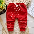 roupas de bebe Autumn Baby Boys Cartoon Print Casual Pants Kids Infant Full Length Cotton Trousers