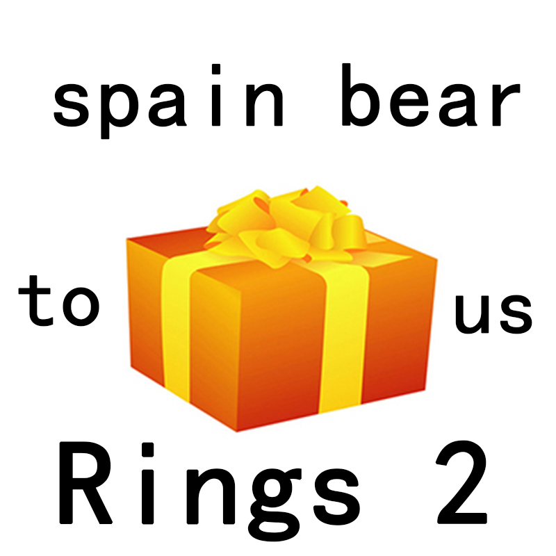 RINGS 2 NEW Store Event Exit Spree To Send Gifts Randomly 100% 925 Sterling Silver Rings 2 Spain Bear Jewelry GiftRINGS 2 NEW Store Event Exit Spree To Send Gifts Randomly 100% 925 Sterling Silver Rings 2 Spain Bear Jewelry Gift