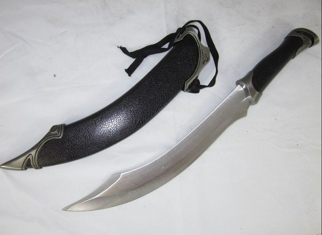 S4314 Lord Of The Rings Elf Arwen Elven Aragorn Strider Knife Sword