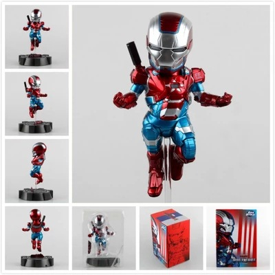 The Avengers EGG Attack Iron Man Patriot A.I.M Ver Super Hero PVC Ironman Action Figure Collection Model Toy Gift 18cm free shipping marvel egg attack iron man 2 mark 4 action figure collection model toy 8 20cm im018
