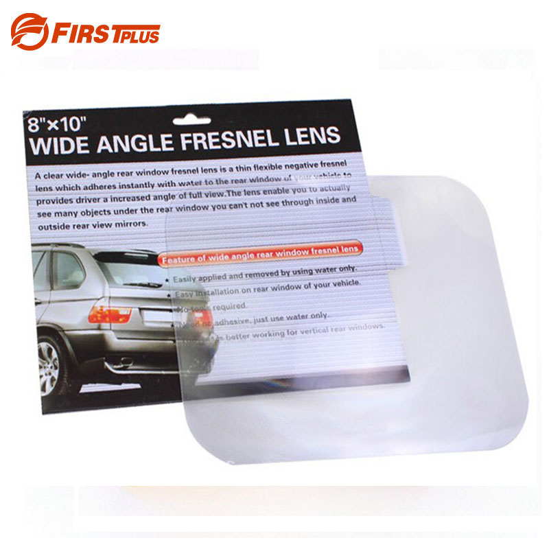 Wide Angle Fresnel Lens Car Parking Reversing Sticker Optical Fresnel Mirror Reverse Helper Useful Enlarge View Angle car window curtains legal